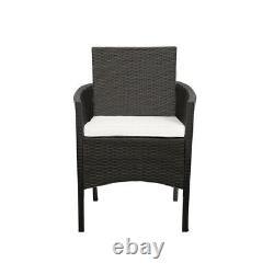 4 piece Rattan Garden Set Furniture Chair Sofa Table