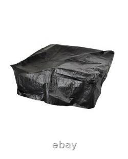B Grade 4-Piece Sofa Coffee Table Furniture Set Garden Grey Rattan Effect
