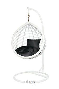 Children's Rattan Effect Chair Wicker Indoor Hammock Garden Patio Egg swing SALE