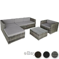 Luxury Poly Rattan Garden Furniture Sofa Set Wicker Outdoor Sofa Chair Table