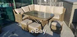 Mazeratten Venice garden furniture with ice bucket. Used. Bargain. Good conditi