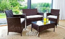 New Deluxe Garden Furniture Set Outdoor patio Table and Chairs Special OFFER
