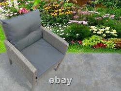 New Rattan Garden Wicker Outdoor Conservatory Sofa Furniture Set Cube Dining Set