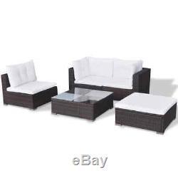 Outdoor 1-7 Seater Corner Sofa Set Patio Lounge Set Rattan Garden Furniture New