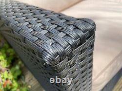 Outdoor rattan garden furniture set used