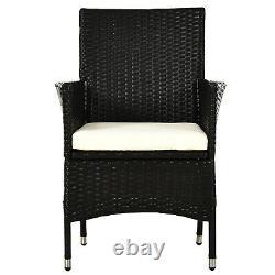 Rattan Chair Patio Sofa Chairs Set Cushioned Garden Outdoor Rattan Furniture