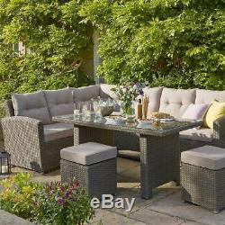 Rattan Garden Furniture Set Hartman (Left-hand Configuration)