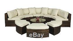 Rattan Sofa Garden Outdoor Furniture Set Monaco