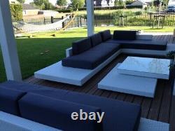 Rattan garden outdoor patio wicker furniture set Ibiza