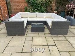 Rio Modular Rattan Garden Furniture Set bought from Hillier Nurseries