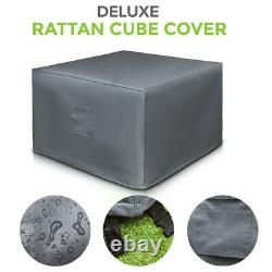 Waterproof Patio Furniture Cover Outdoor Garden Rattan Table Chair Cube Cover